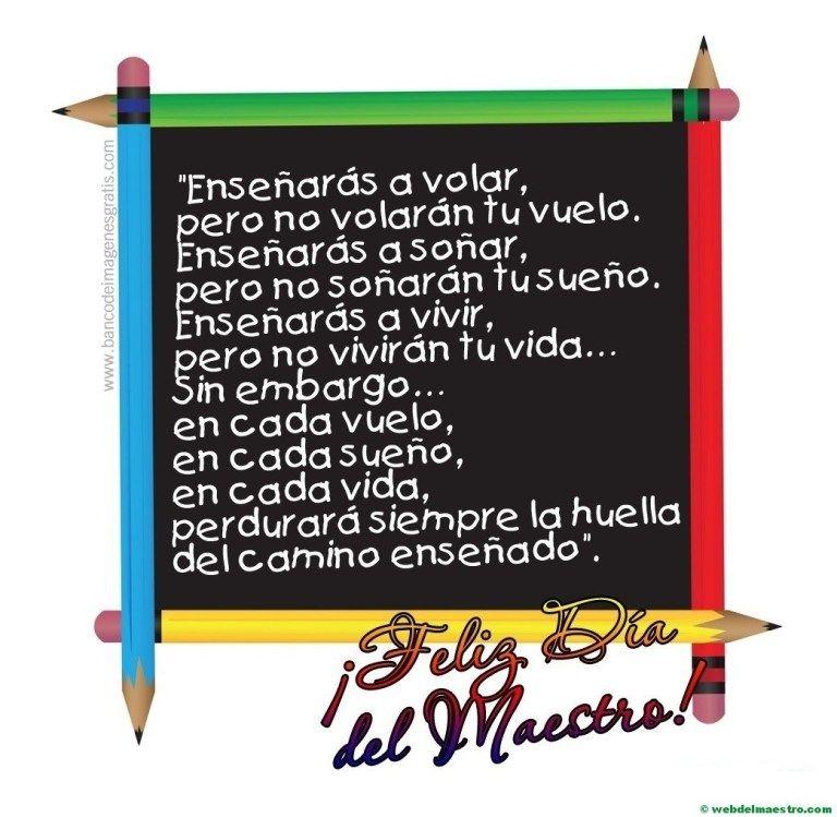 Día del maestro #diadelmaestro