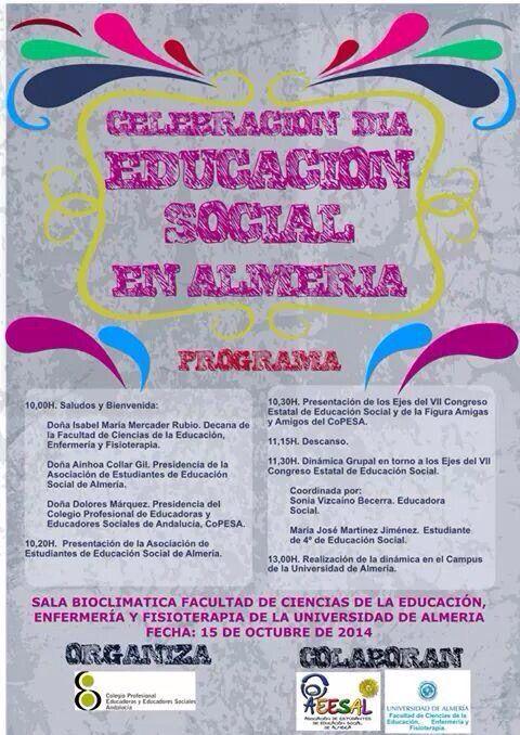 Celebración Día Internacional Educación Social Almeria