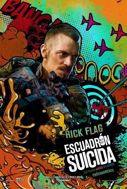 Poster Individual Latino De ESCUADRÓN SUICIDA - Rick Flag https://t.co/uEkRUPgwP6
