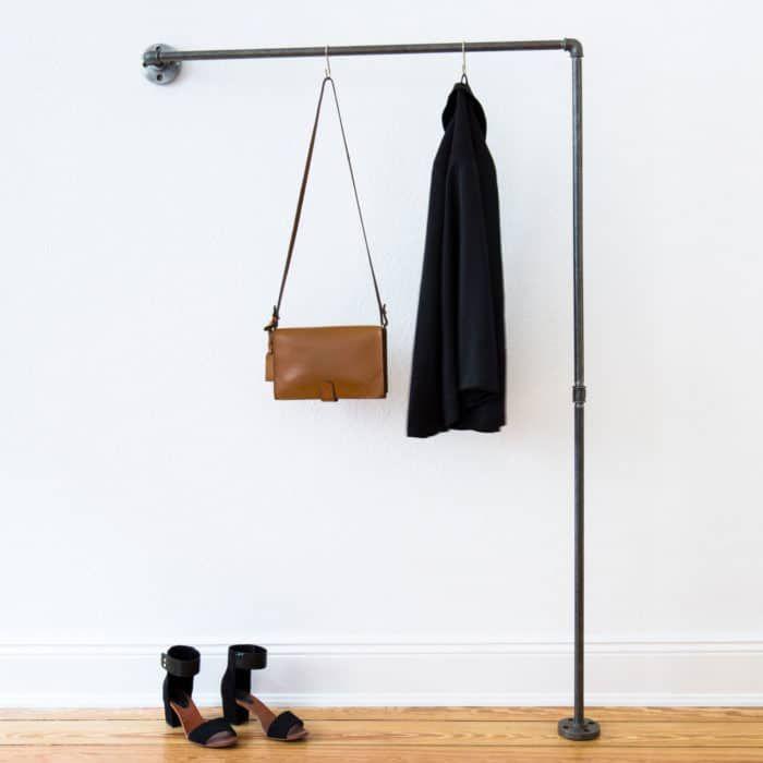Garderobe Industrial Design für schmalen Flur & Nische online kaufen