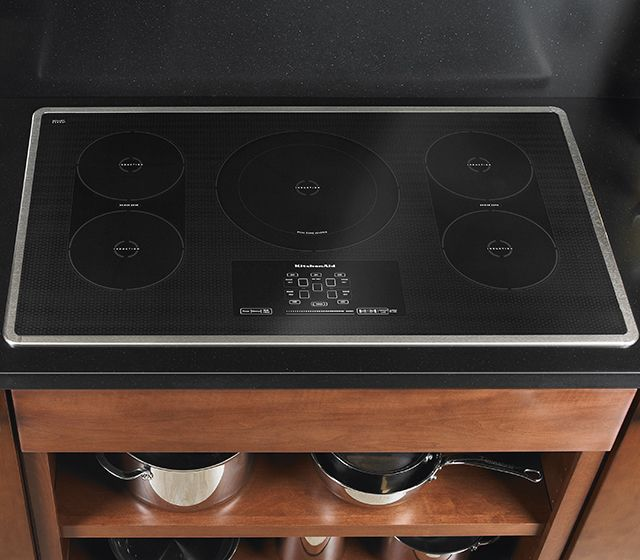 36 Inch 5 Element Induction Cooktop, Architect® Series II (KICU569XSS  Stainless Steel) | | Stuff To Buy | Pinterest | Architects, KitchenAid And  Steel