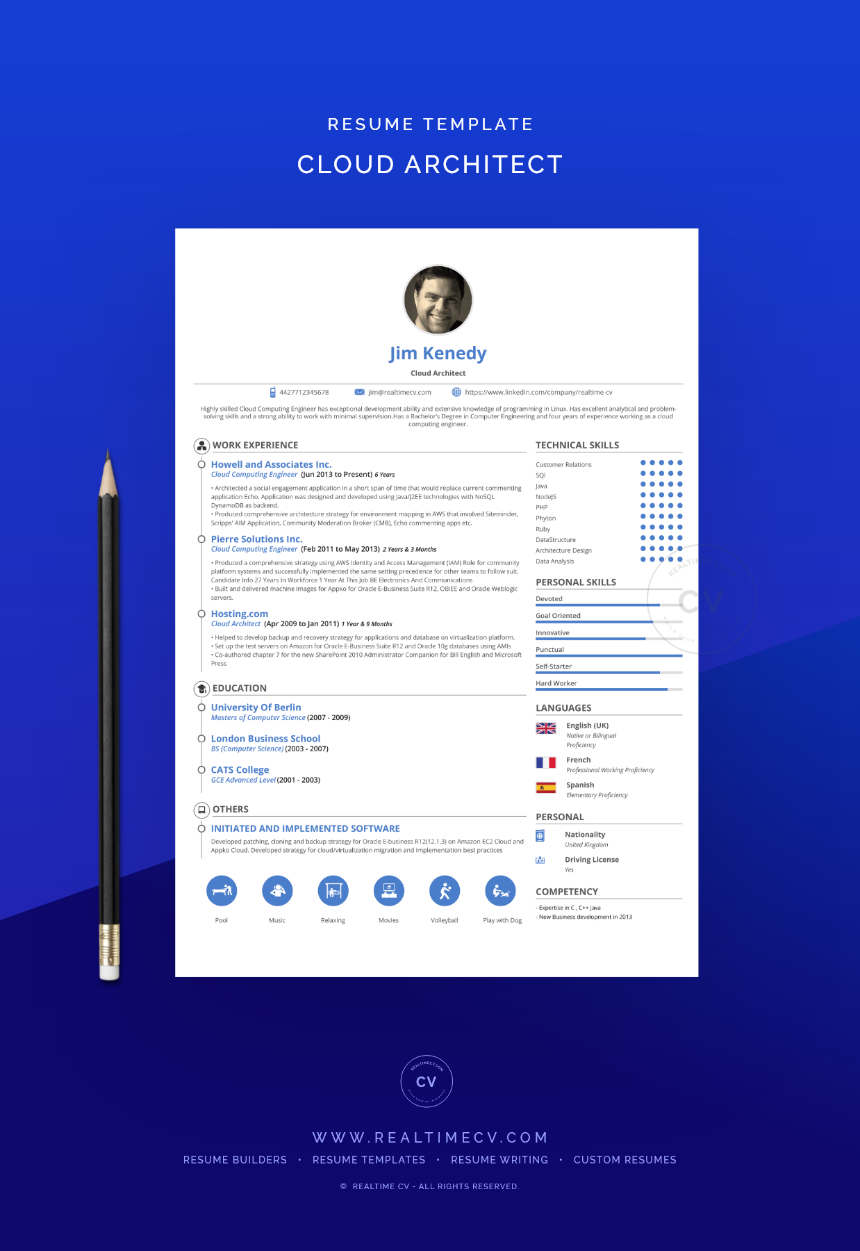 Cloud Architect Resume Template Architect Resume Architect Resume Sample Creative Resume Templates