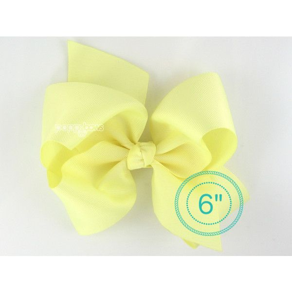 Light Yellow Hairbows