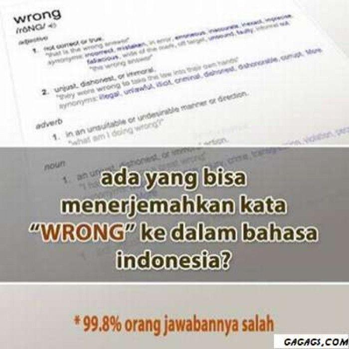 Gagags Meme Comic Indonesia Ngakak Everyday Meme Bahasa Inggris Inggris