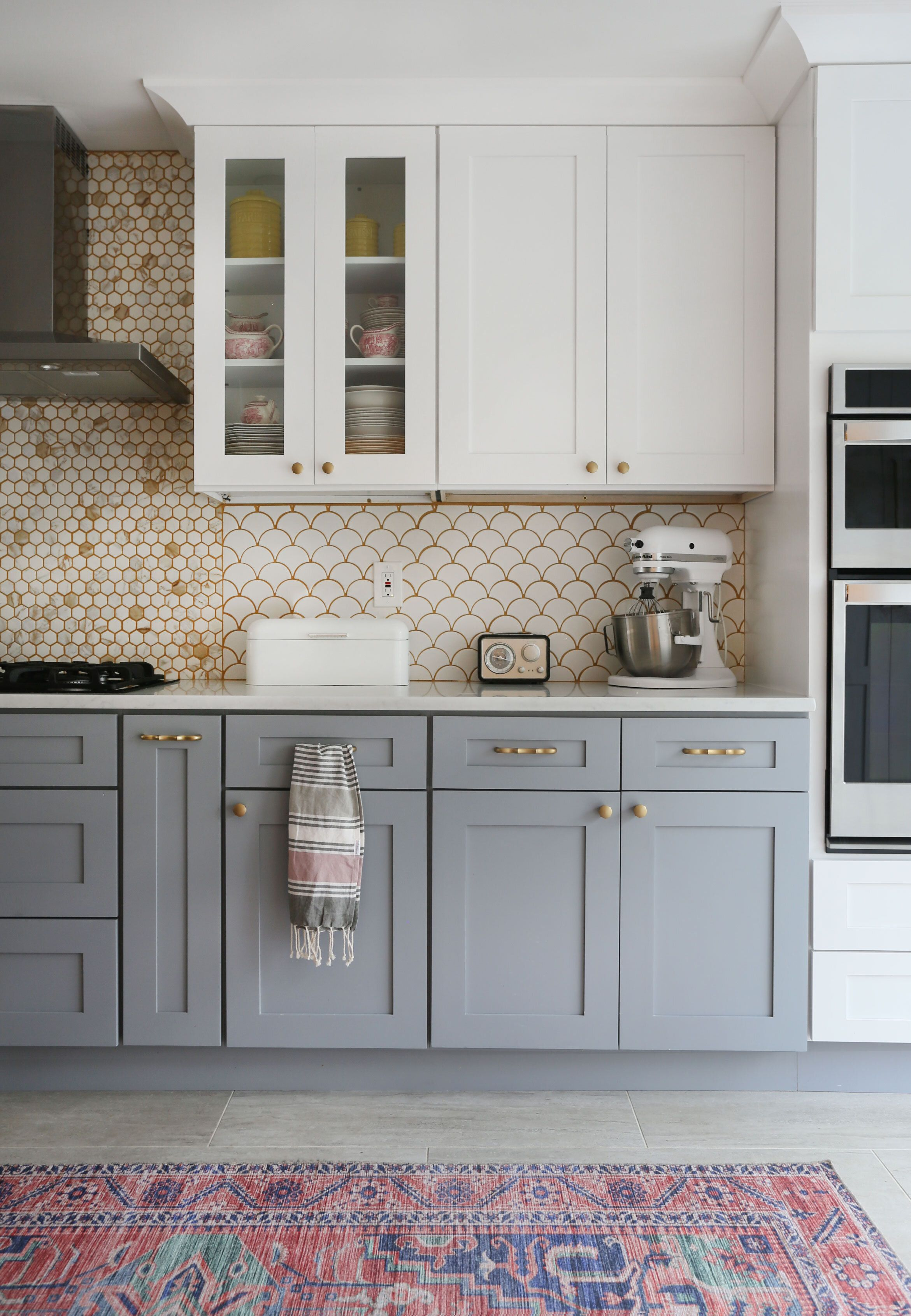 A Tale Of Two Kitchens Sunny Circle Studio Gray And White