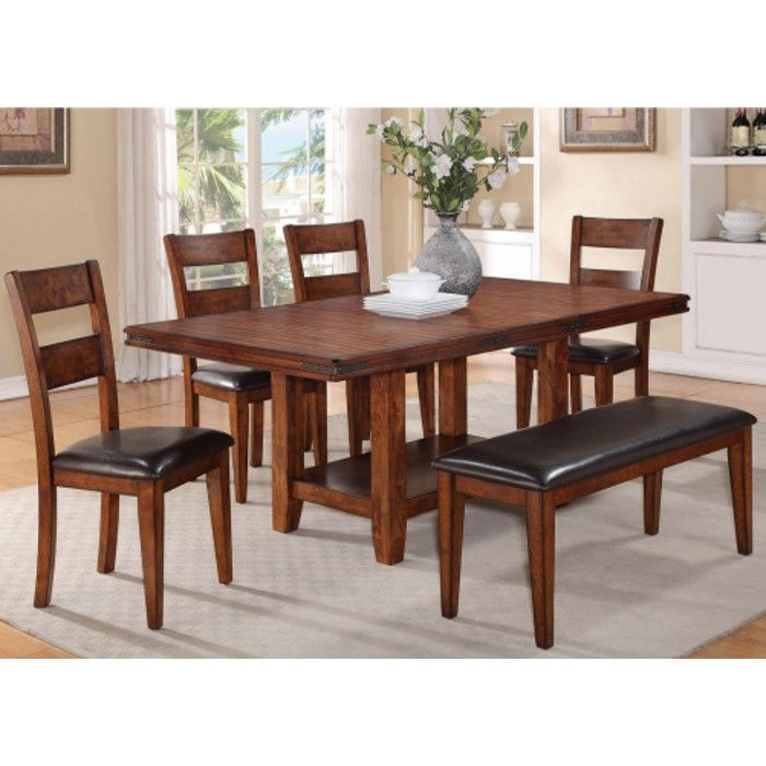 Sierra Ridge Dining  Table & 4 Chairs 210  Conn's  Jo Jo Misc Magnificent Kitchen Table Chairs Decorating Inspiration