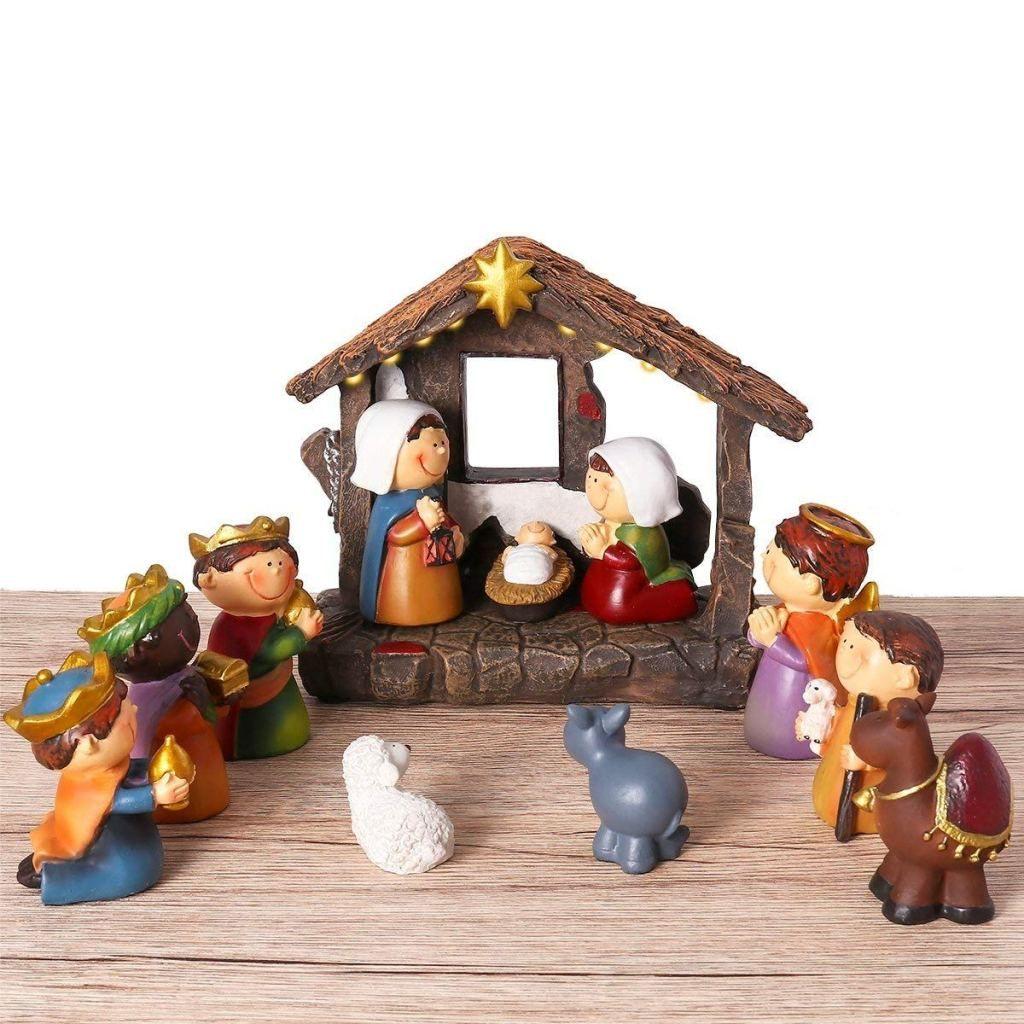 Peanuts Figures Christmas 2020 Set The 35+ BEST Kid Nativity Sets of 2020! | Kids nativity set