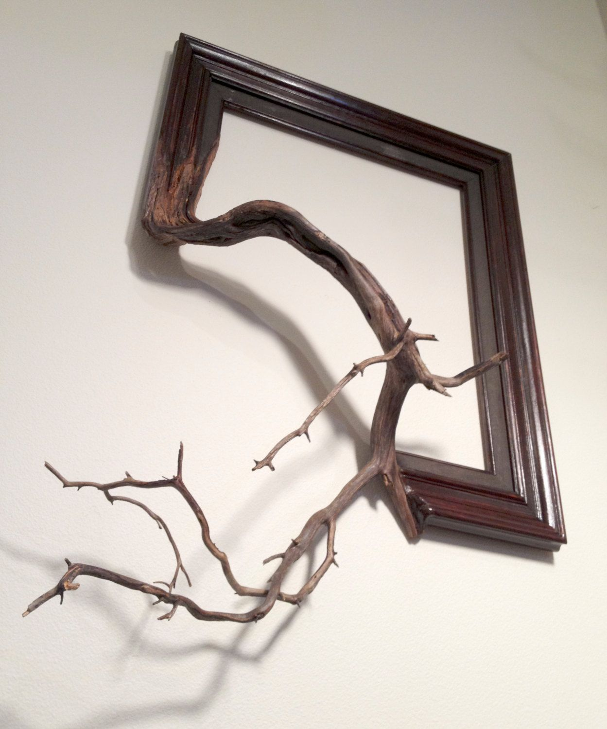 Wood frame with grafted manzanita branch oscar 21500 via wood frame with grafted manzanita branch oscar 21500 via etsy jeuxipadfo Choice Image