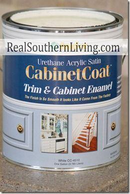 Merveilleux Benjamin Moore Cabinet Coat Paint; Self Leveling, No Brush Marks, Latex  That Dries Hard Like Enamel.