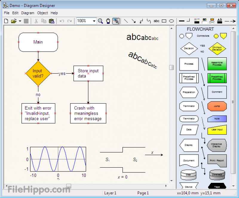 Diagram Designer 2018 Full Free Download Software For Windows   Mac  With Images