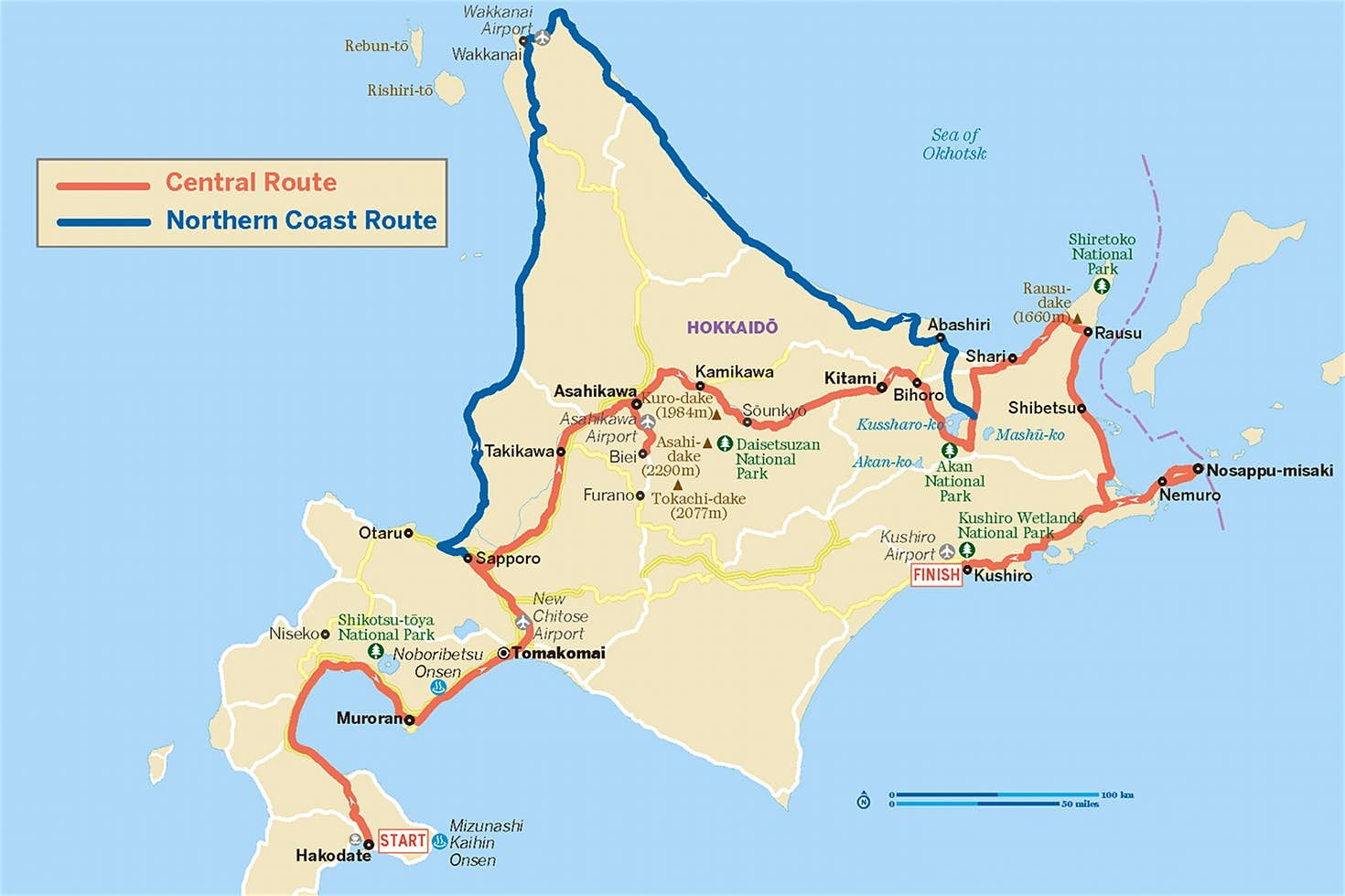 Hokkaidō Road Trip Exploring Japan S Wild North Hokkaido Japan Reisen