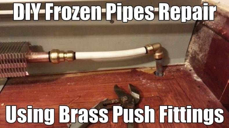 DIY Plumbing and Heating Pipes Repair without Soldering [Video]  sc 1 st  Pinterest & DIY Plumbing and Heating Pipes Repair without Soldering [Video ...