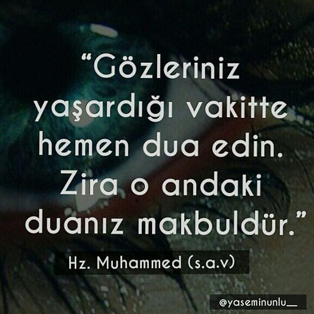 Pisan Gozlerin Icimde Bir Cennet Allah Islam Turkish Quotes Famous Words