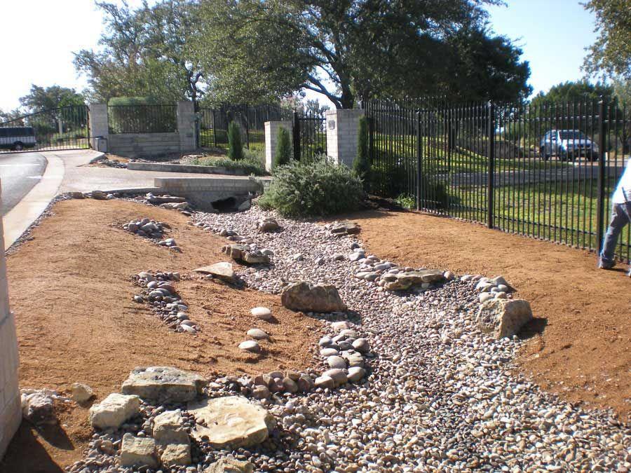 Dry River Bed Desert Garden Design   Google Search