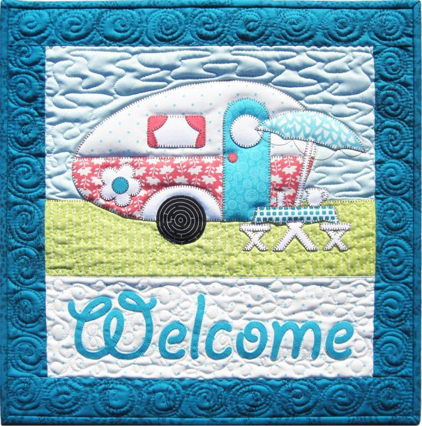 Amy Bradley Designs Gingerbread Houses: Campers Quilt Pattern