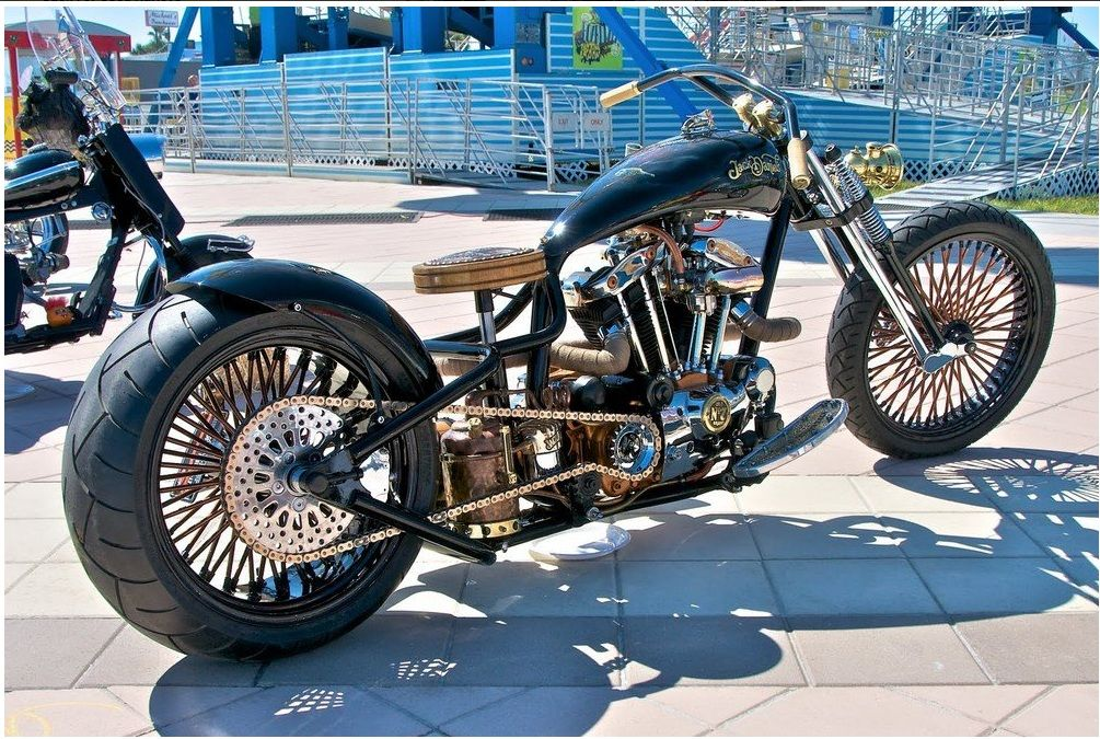Pleasing Motorcycle With A Bar Stool For A Seat Motorcycles Caraccident5 Cool Chair Designs And Ideas Caraccident5Info