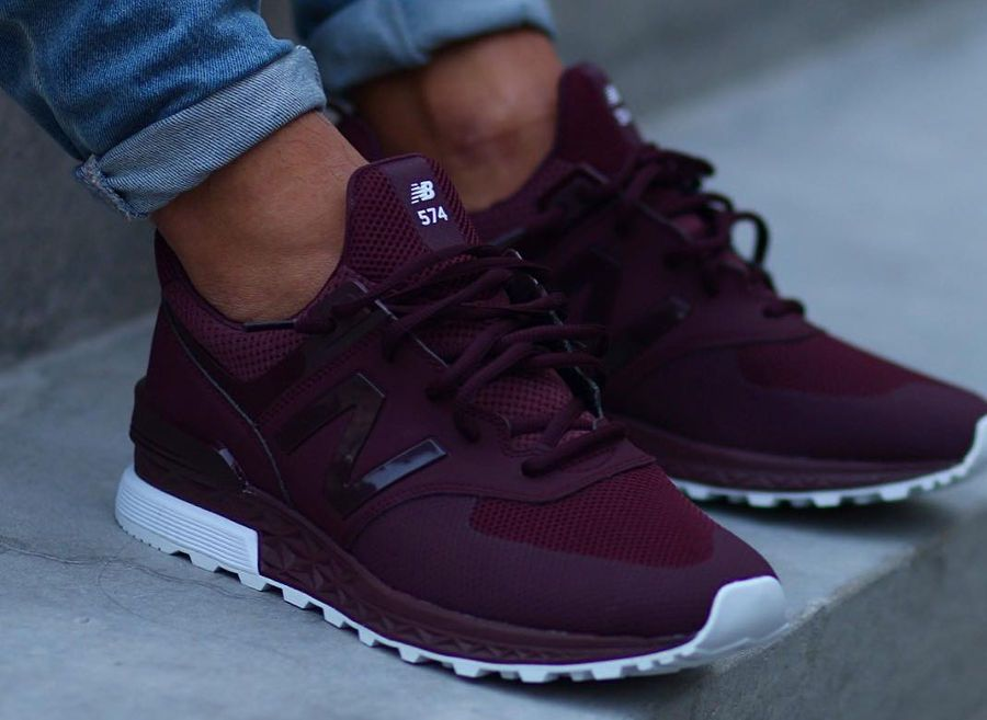 chaussure-new-balance-574s-sport-maroon-on-feet (3)  c78c03c6b02cf