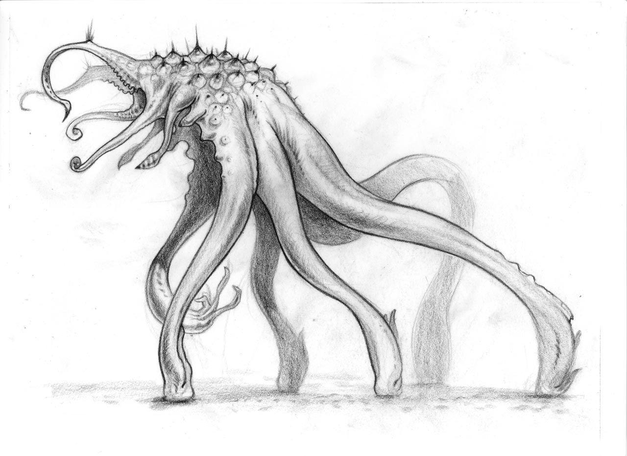 Neville Page - Concept for Super 8 - http://www ... |Super 8 Alien Design