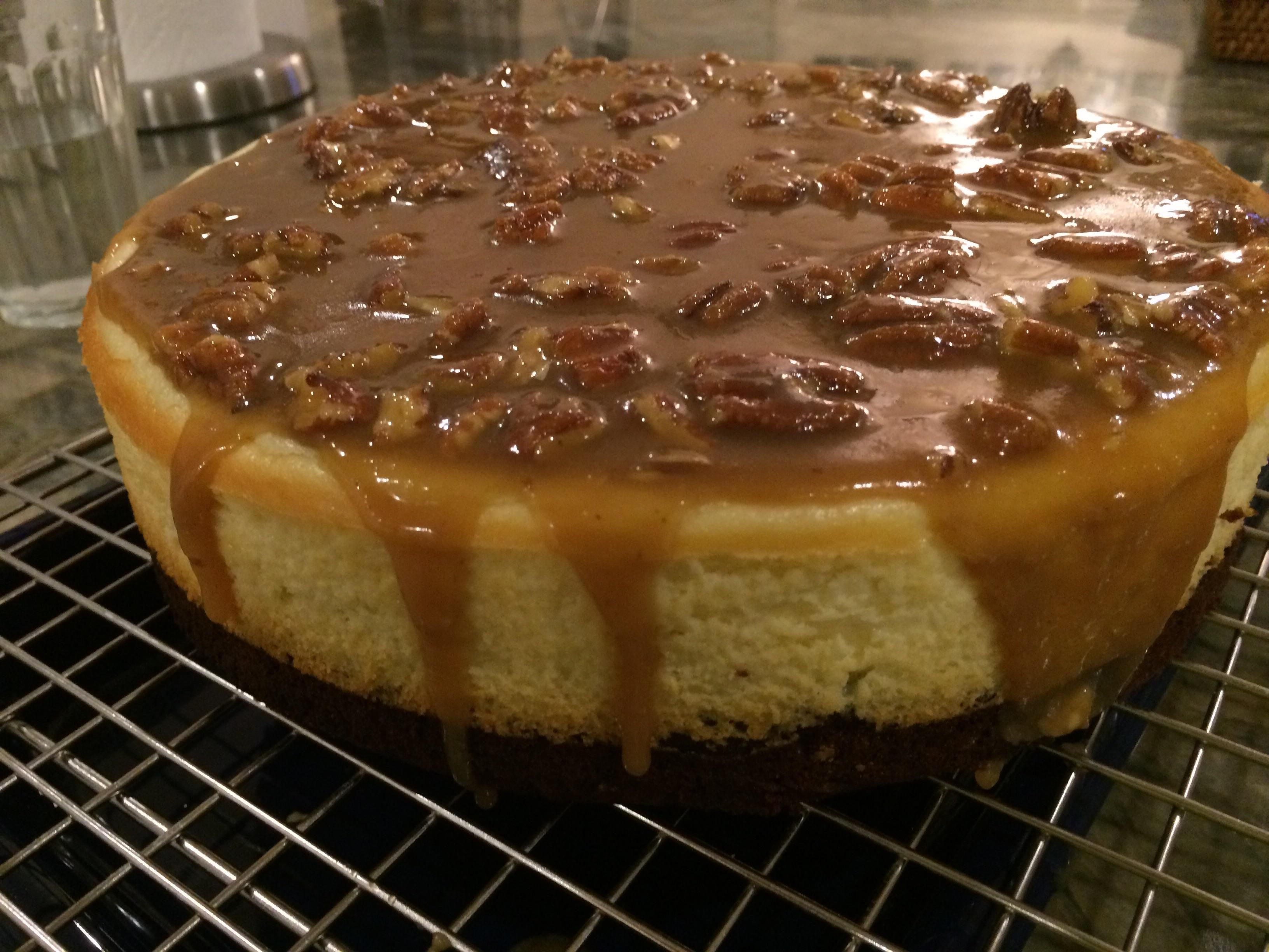 [Homemade] Brownie Cheesecake goodness!