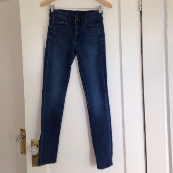 J.Crew high-rise skinny Denim. J.Crew high-rise, skinny legged denim. Like new. J. Crew Jeans Skinny