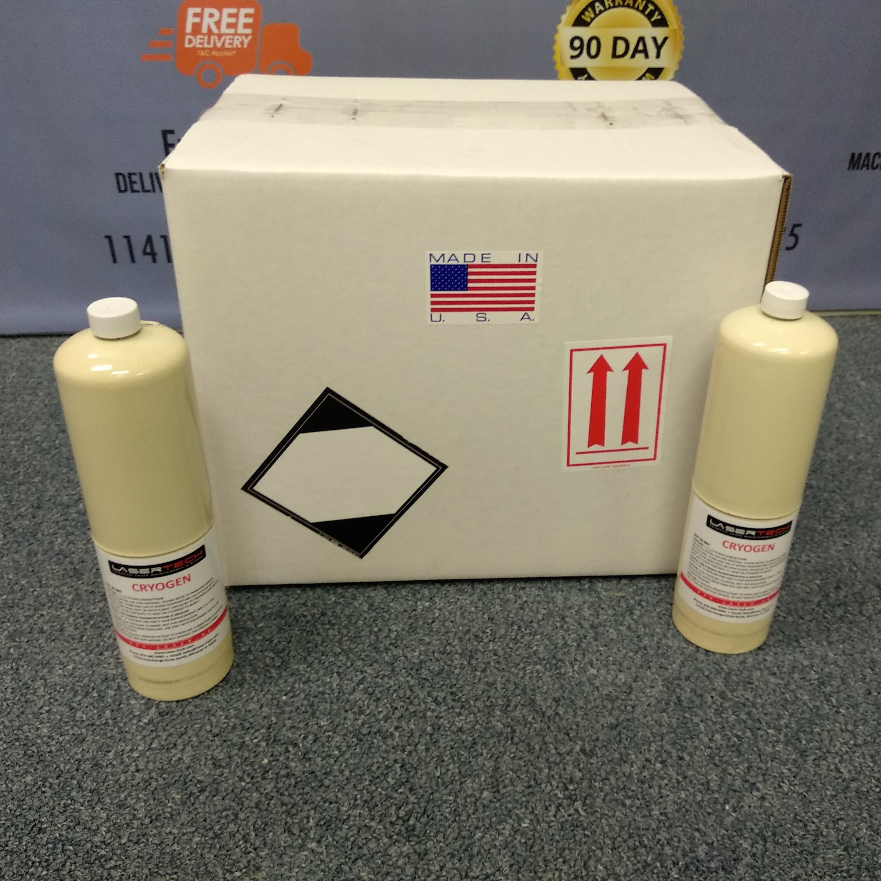 CRYOGEN FOR ALL CANDELA LASER MACHINES 12 Canister in each