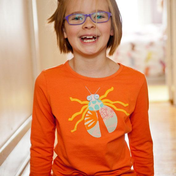 Happy beetle shirt by ButtonByRya on Etsy, $22.00