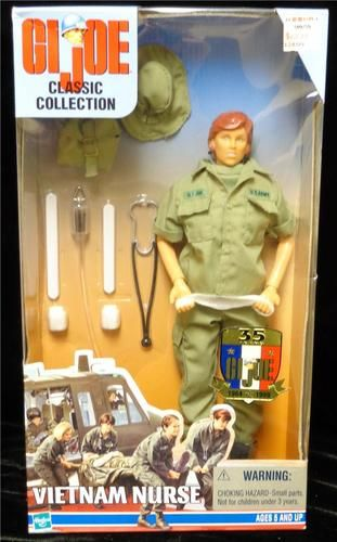 Vietnam Nurse Female GI JOE Action Figures Uniform Set - 1//6 Scale