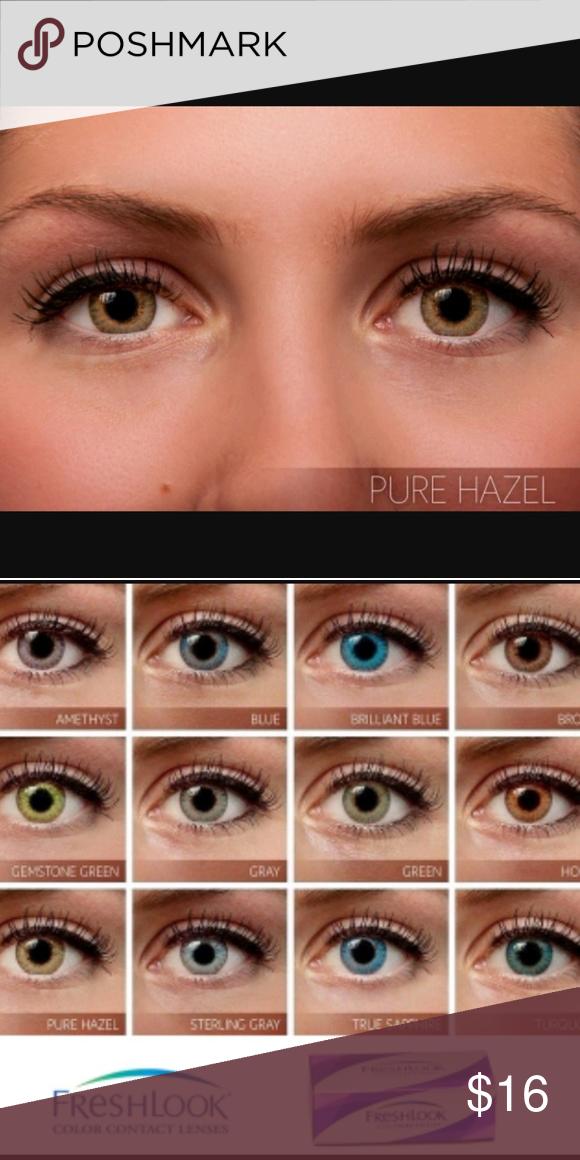 freshlook pure hazel color nwt my posh picks sapphire color