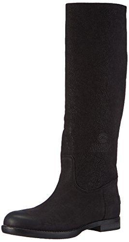 Shabbies Amsterdam Shabbies 45cm high boot flat heel special MV rubber matching sole last LEE, Damen Langschaft Stiefel, Schwarz (Black 002), 37 EU - http://on-line-kaufen.de/shabbies-amsterdam/37-eu-shabbies-amsterdam-shabbies-45cm-lee-damen