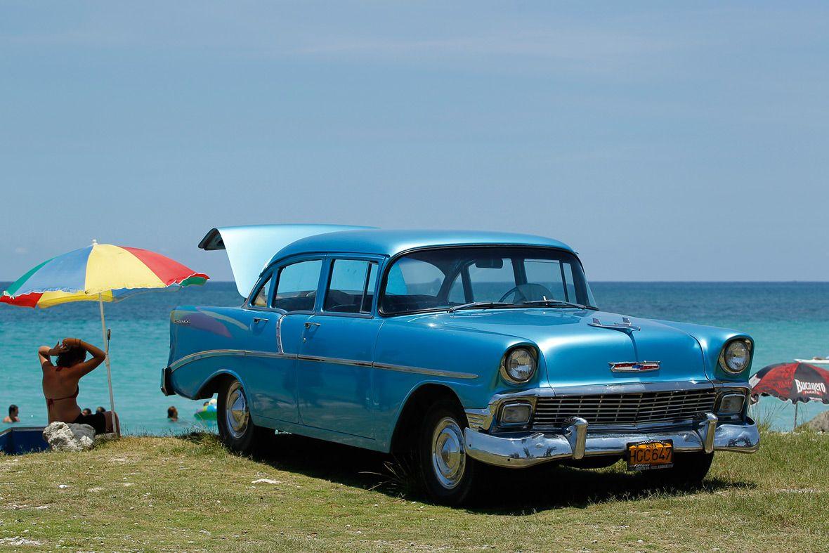 Vintage American cars Havana Cuba | Chevrolet (1954) | Pinterest | Cars
