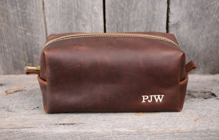 Etsy Huge Sale Large Arizona Leather Dopp Kit with Free Monogram and  Optional Interior MessageNew Year Sa e4f05a1ba4