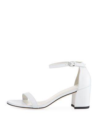 f4bd66d8882 Stuart Weitzman Simple Napa Chunky-Heel City Sandal | Products ...