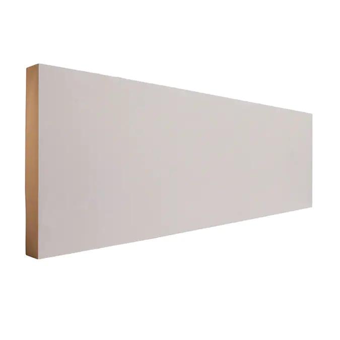 Evertrue 11 16 In X 5 1 2 In X 8 Ft Primed Mdf Baseboard Moulding Lowes Com Baseboard Moulding Baseboards Orac Decor