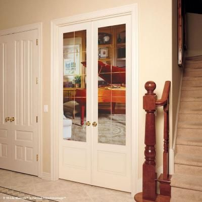 Feather River Doors 15 Lite Illusions Smooth 1 Lite Primed Mdf