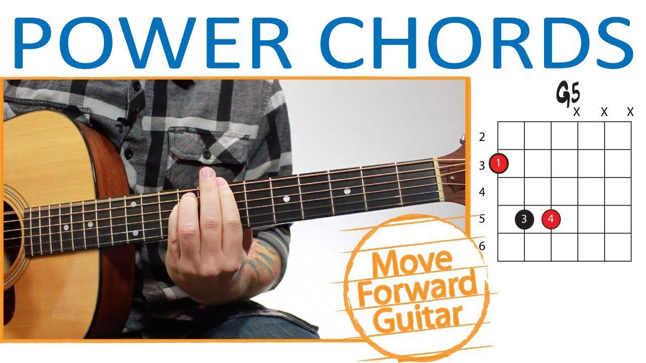 Power Chords Guitar G5 A5 B5 C5 Etc Guitar Pinterest
