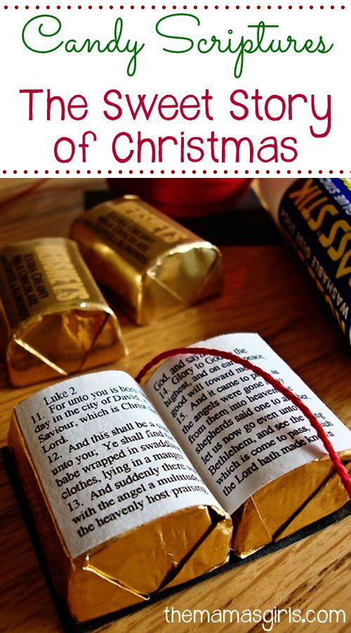 Candy Scriptures The Sweet Story Of Christmas Christmas