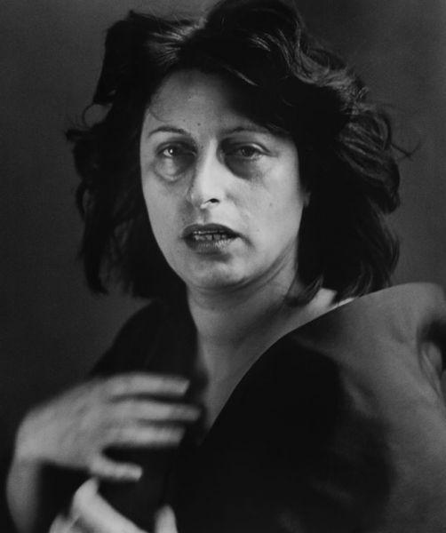 Anna Magnani, Richard Avedon, 1953.