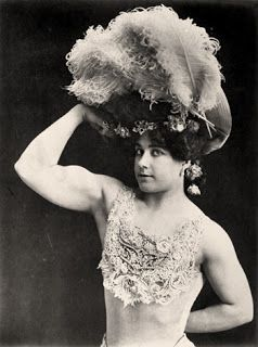 victorian strong woman laverie valee also known a