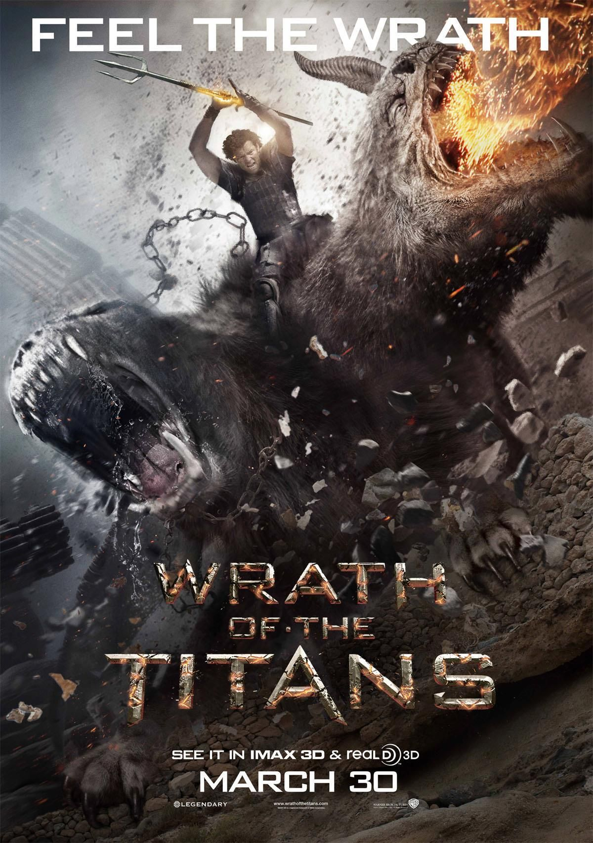 Wrath Of The Titans Movie Poster Wrath Of The Titans Movie Posters Wrath