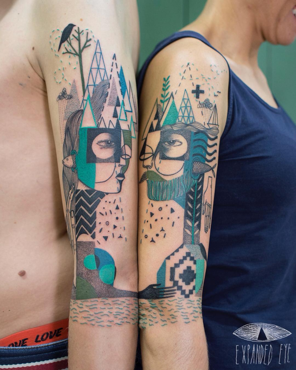 Expanded Eye Google претрага in 2020 Abstract tattoo