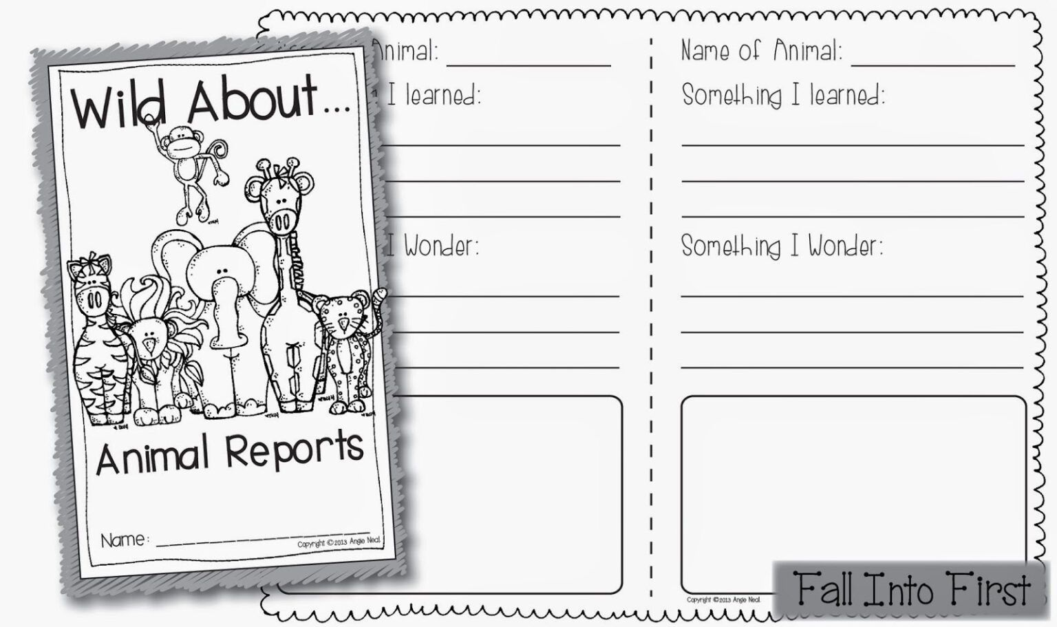 Zoo Animal Worksheet For 2nd Grade