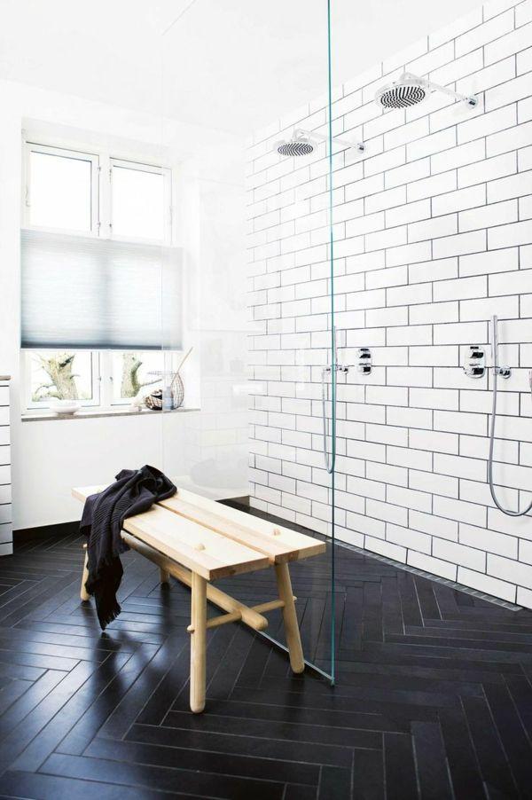 badezimmer ideen boden moden duschkabine ideen Душкабина - einrichten in neutralen farben ideen