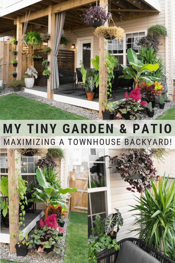 Small Townhouse Patio Ideas My Tiny Backyard This Summer Small