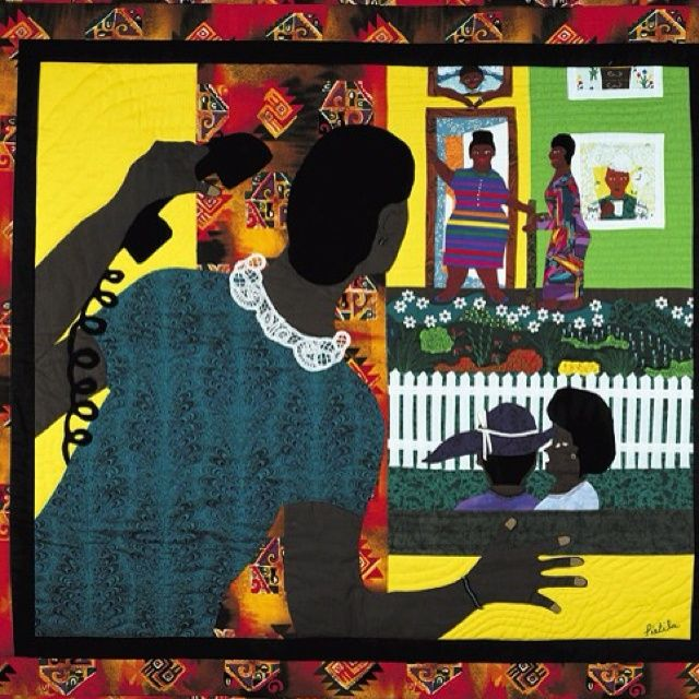 Signifying - Barbara Pietila - Magnificent art quilts by African ... : african american quilts - Adamdwight.com