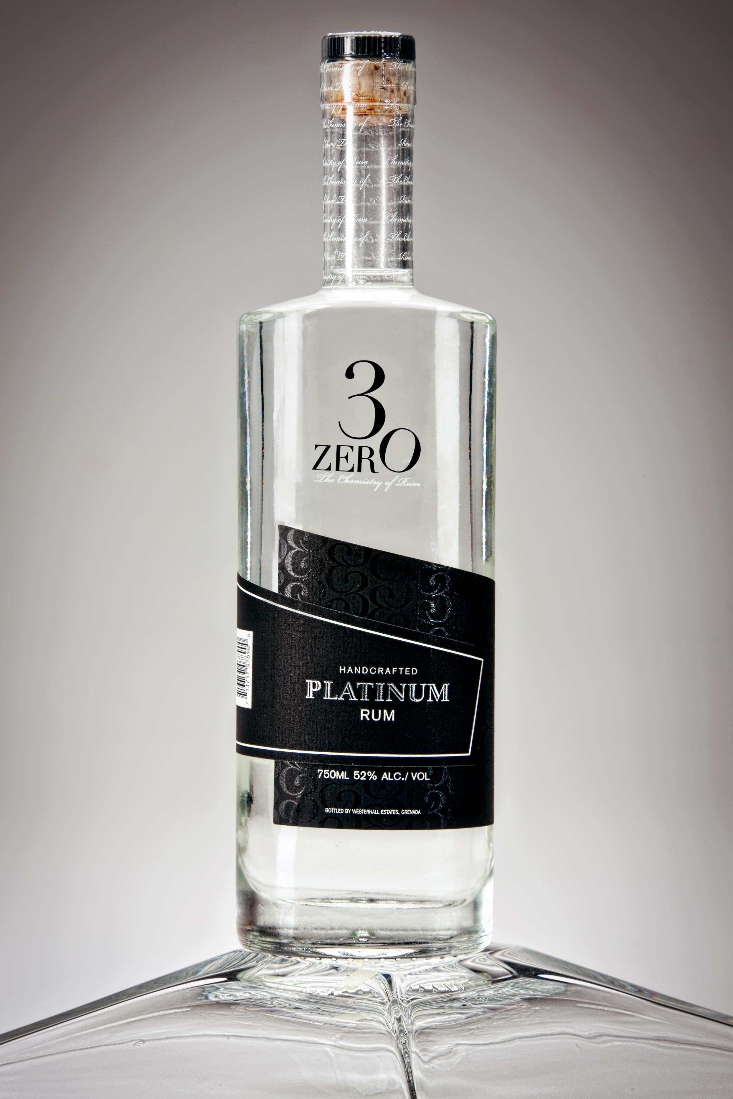 3ZERO Platinum Blend White Rum