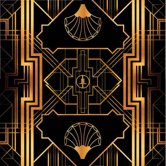 Find This Pin And More On Source 20s. Great Gatsby Art Deco Backdrop For  Photos   Wall Decor ...
