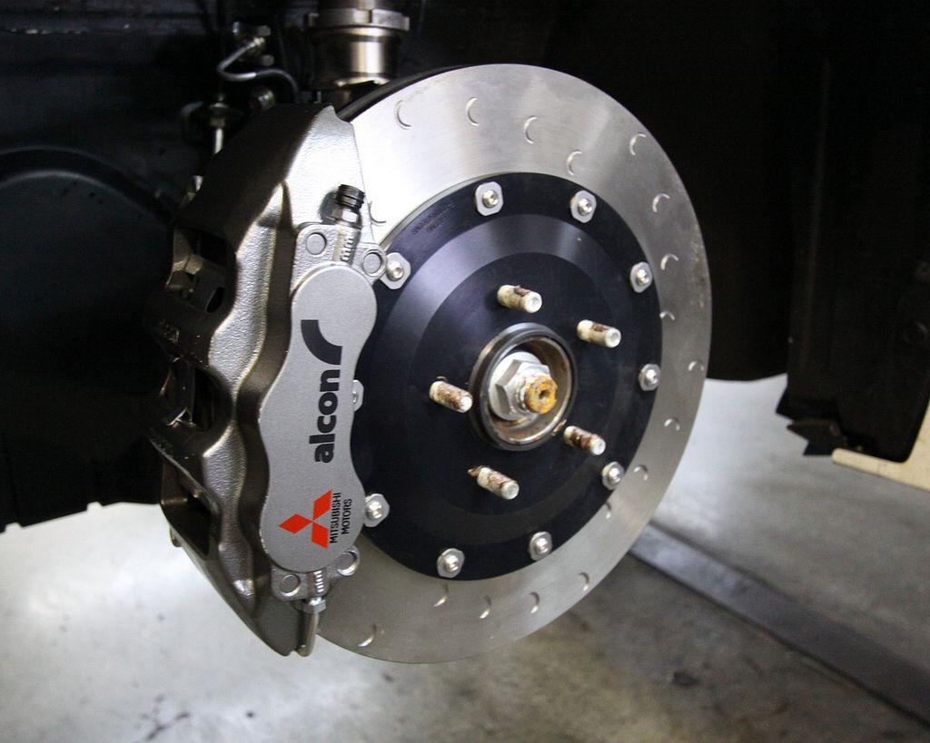 Evo X Fq400 Alcon Brake Kit