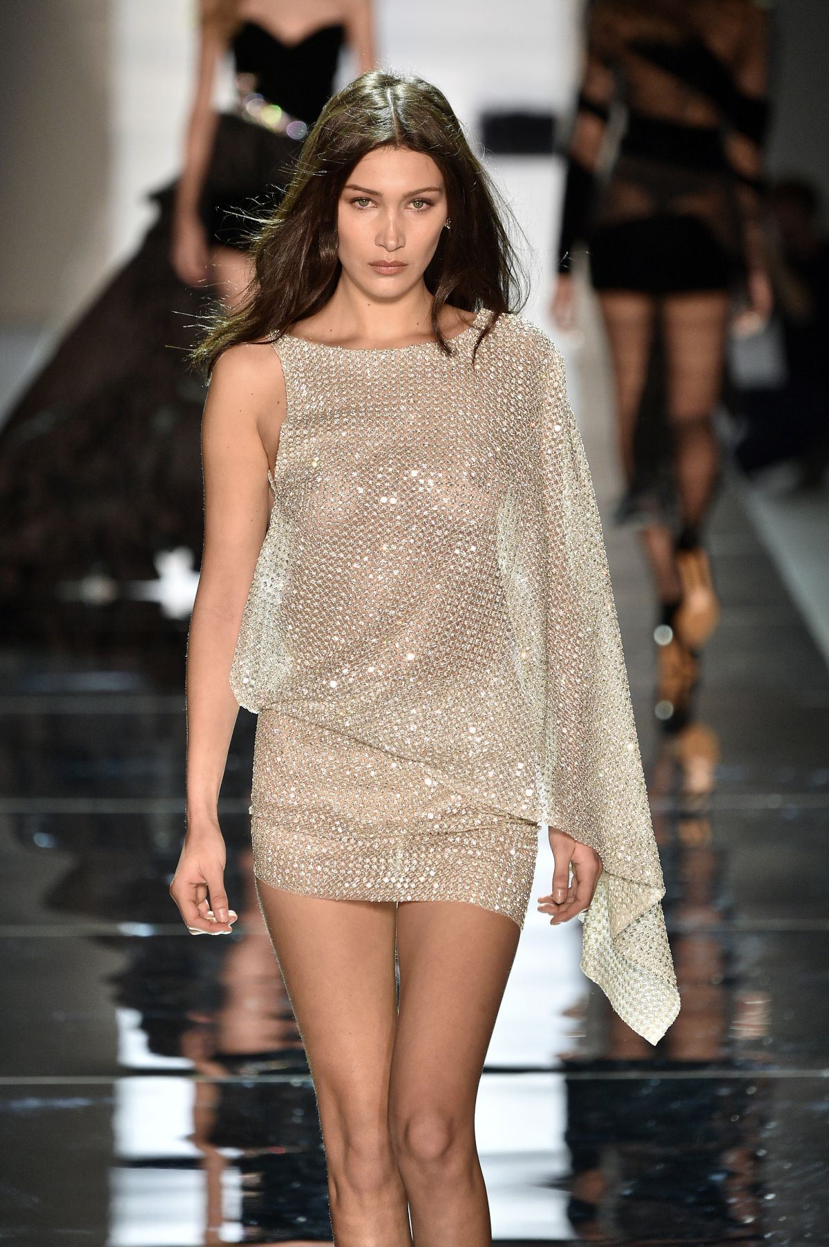 7dcaed15c75 Bella Hadid.. Alexandre Vauthier Spring 2017 Couture dress ...