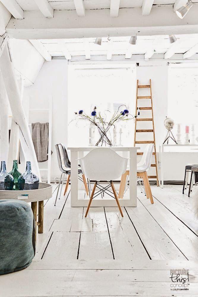 La salle à manger Lofts, Salons and Shabby - table salle a manger loft