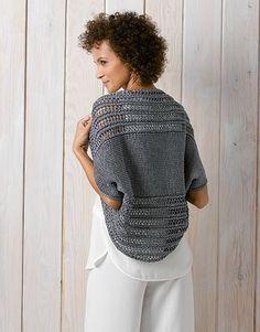 Patron veste femme tricot